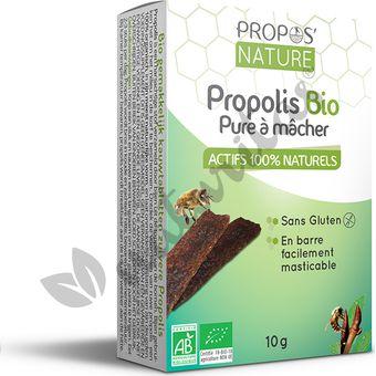 9295e30ef6f Propolis pure à mâcher BIO Récipient de produit de 10 g